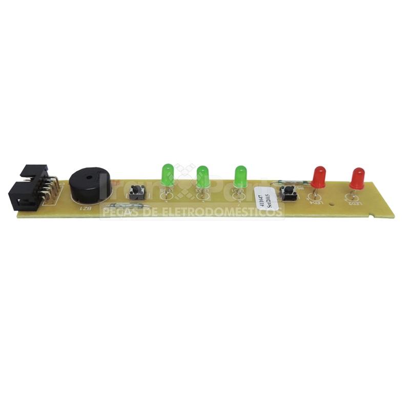 Placa Interface Compatível Geladeira Brastemp Bivolt BRG43 BRM44