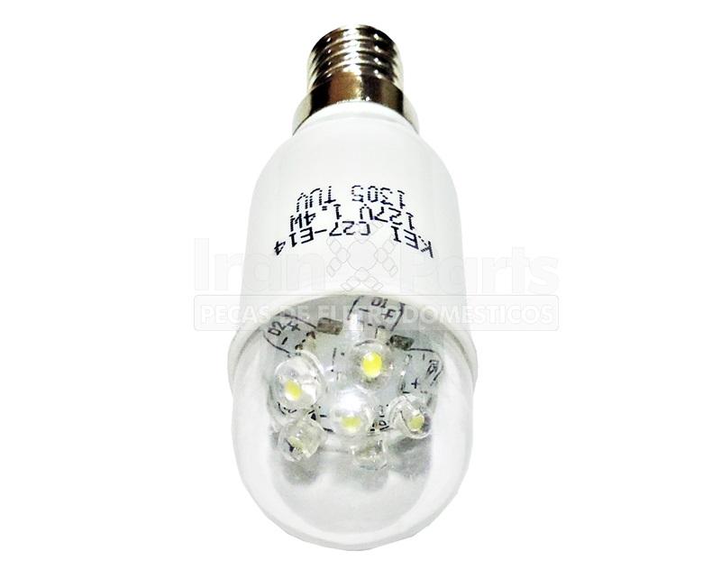 Lampada Led 127V E14 1,4W Universal Para Geladeira