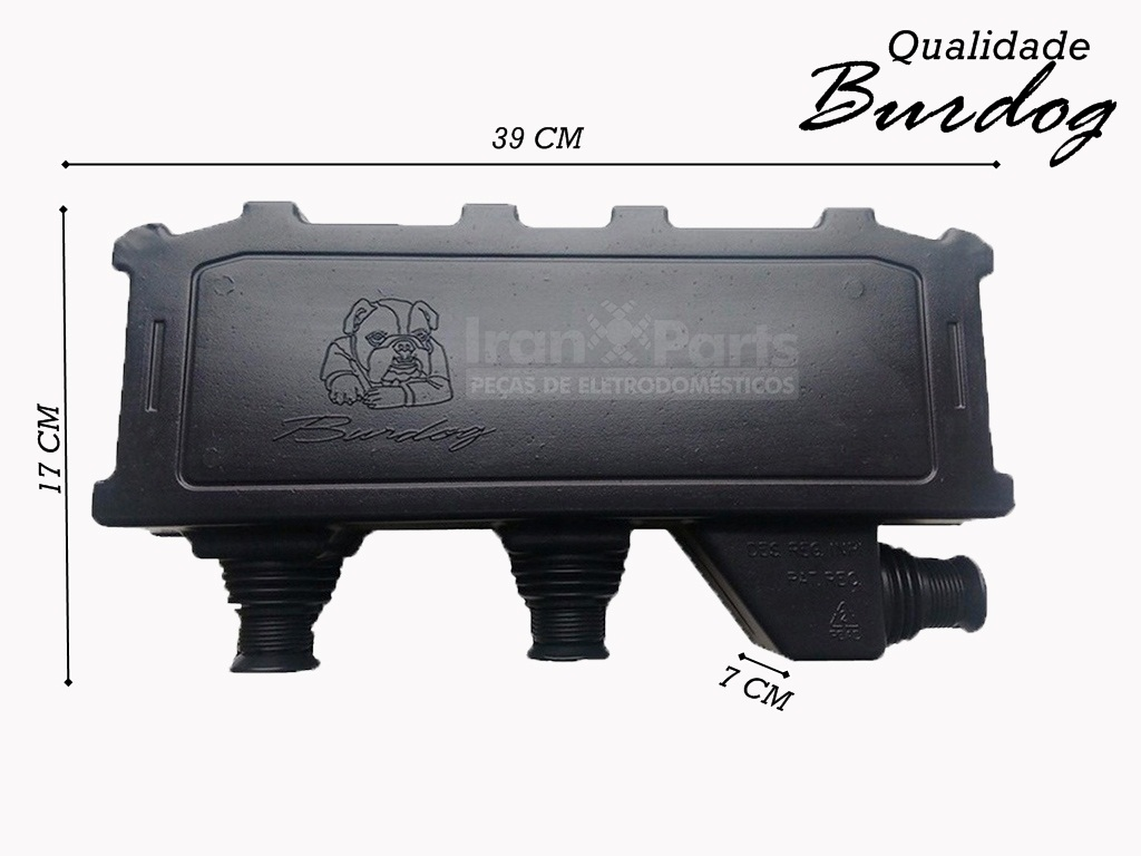 Caixa De Passagem Burdog Para Ar Condicionado Split 39 X 17 X07