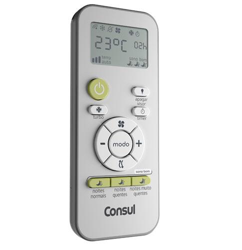 Controle Ar Condicionado Consul W10614454
