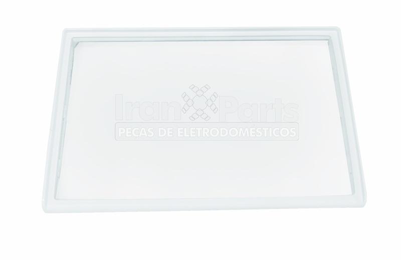 Estante De Vidro Temperado : Prateleira de vidro temperado refrigerador brastemp original