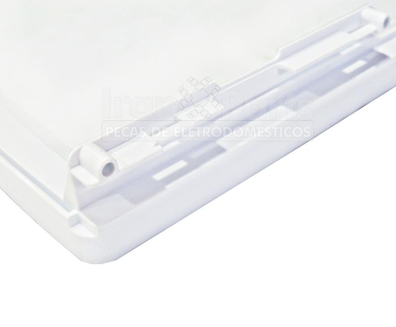 Prateleira De Vidro Refrigerador Brastemp Bre48 Bre49 Brm50