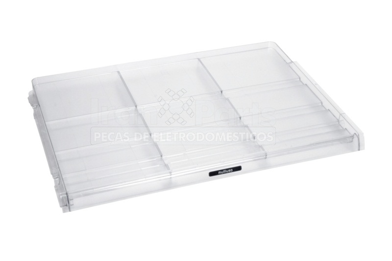 Prateleira Multiuso 3 Gavetas Refrigerador Brastemp BRM48 Original
