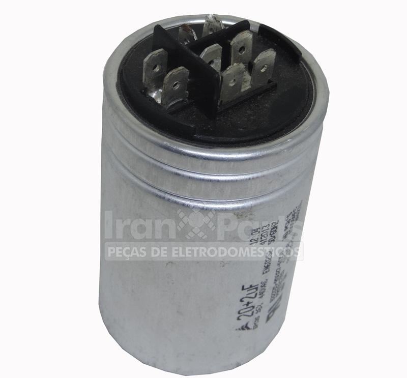 Capacitor 15 + 5 Uf 380 Vac Ar Condicionado Epcos