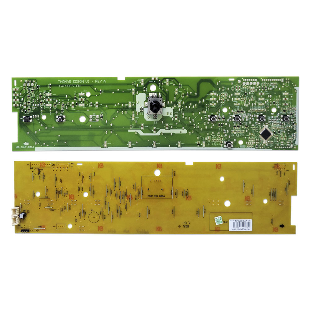 Placa Interface Compatível Lavadora Brastemp Completa BWH15 W10640425