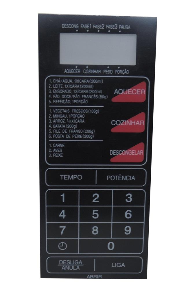 Membrana Forno Microondas Philco Pmw 50 8X18,5Cm