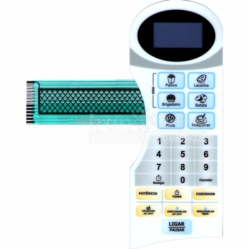 Membrana Teclado Forno Microondas Philco Pms22N 2