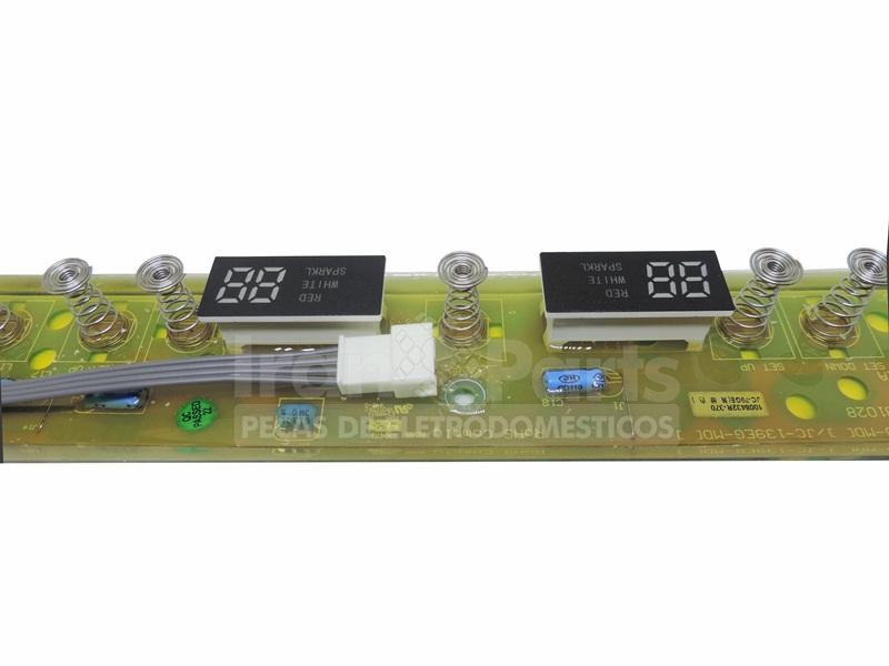 Placa Controle Dsplay Side By Side Mabe Gewiad502301060101