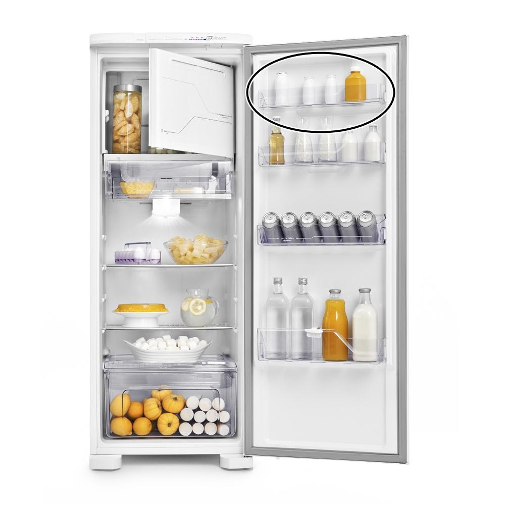 Prateleira Rasa Puxador Refrigerador Electrolux Rfe39