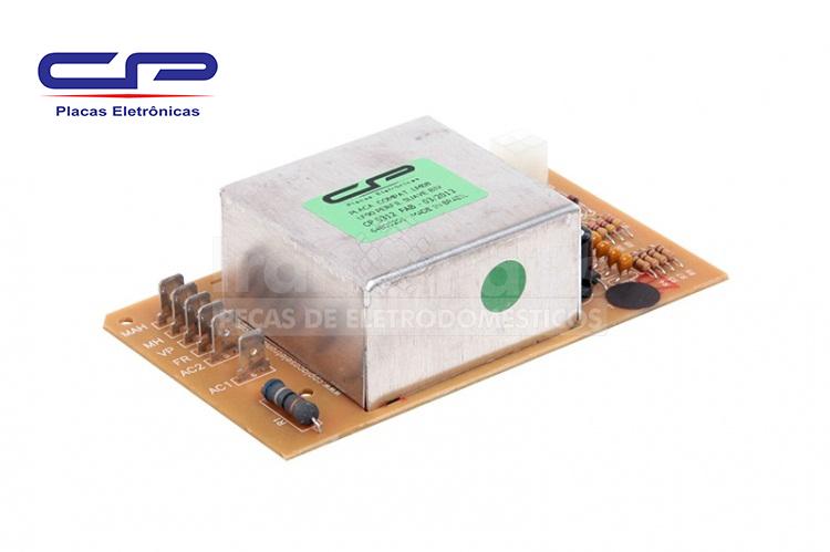 Placa Superior Perfil Suave Lavadora Electrolux Cp Lq90