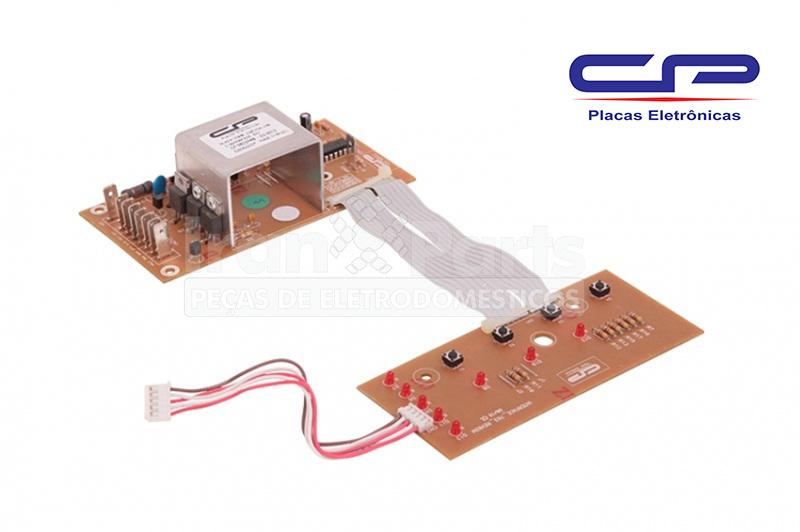 Placa Potência Interface Compatível Lavadora Brastemp Consul Bwl11A