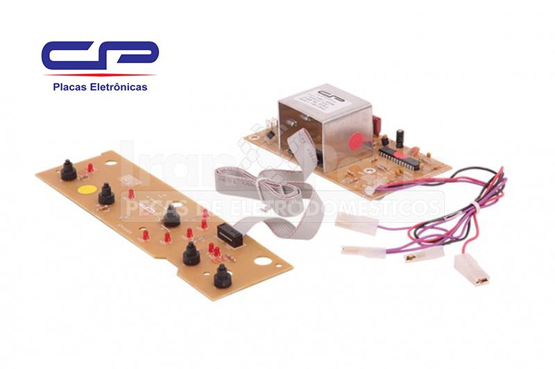 Placa Potência Interface Bivolt CP Lavadora Brastemp BWF08