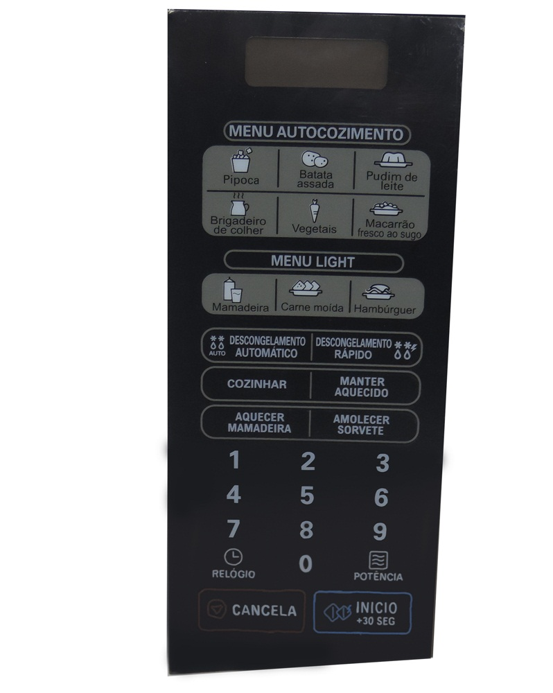 Membrana Teclado Forno Microondas Lg Ms3046 Ms3046Sp - 30L