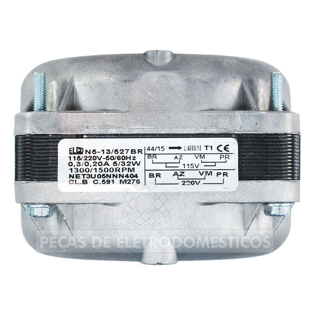 Micro Exaustor 1/40Hp Elco Bivolt Hélice Plástica