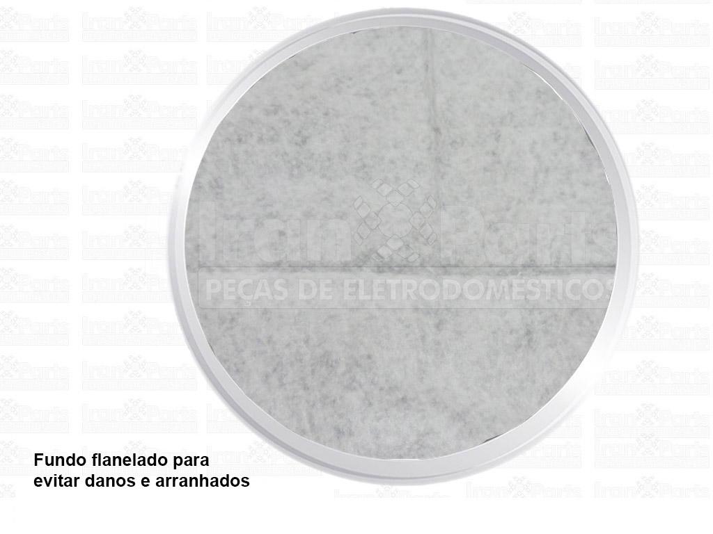 Capa Bege Compatível Lavadora Brastemp Colormaq
