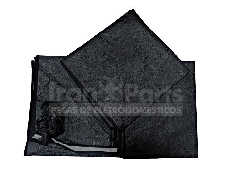 Capa Cinza Compatível Lavadora Electrolux Brastemp Lg Mabe