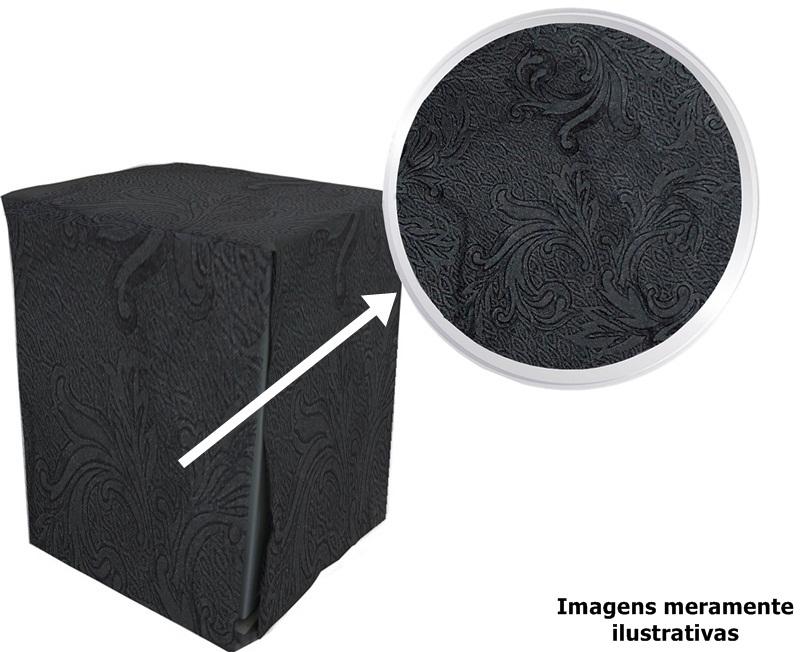 Capa Cinza Para Lava E Seca Samsung 12Kg
