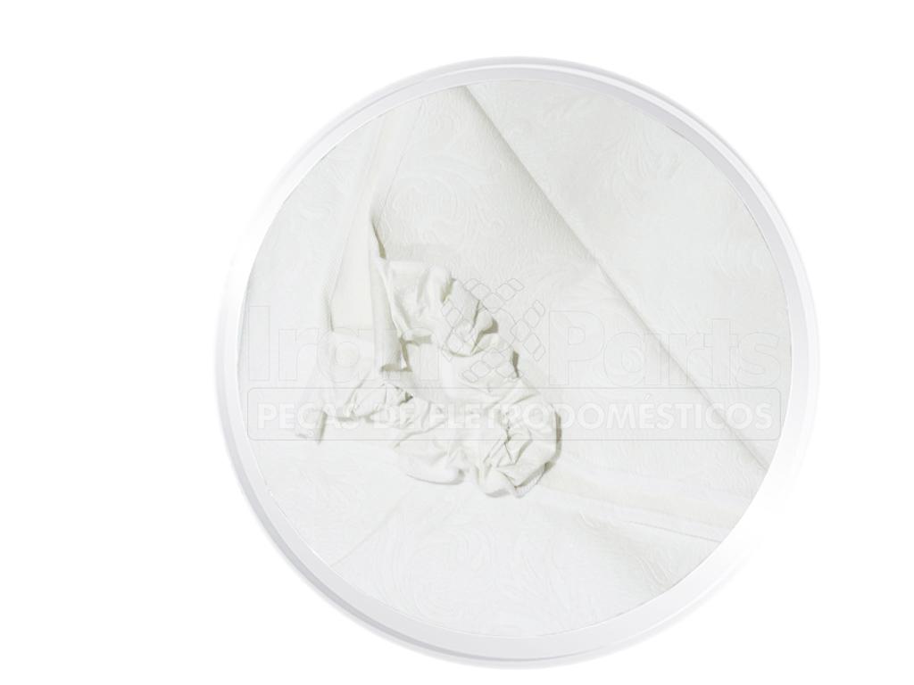 Capa Branca Lavadora Colormaq Continental Dako Ge Lg Mabe Panaso