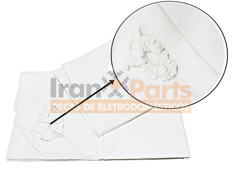 Capa Branca Compatível Lavadora Electrolux Brastemp Mabe