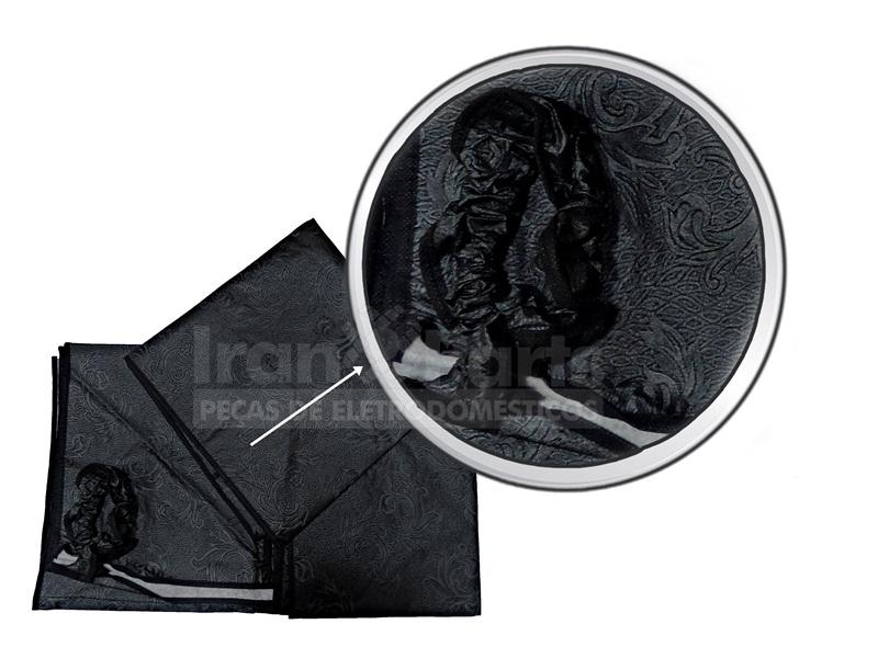 Capa Cinza Compatível Lavadora Brastemp Consul Ge Dako