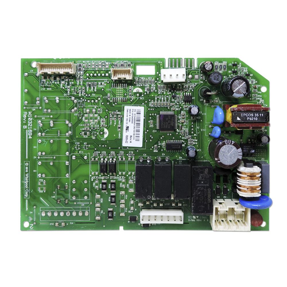 Placa Controle Eletrônico Compatível Refrigerador Brastemp Bivolt Brv80Ar