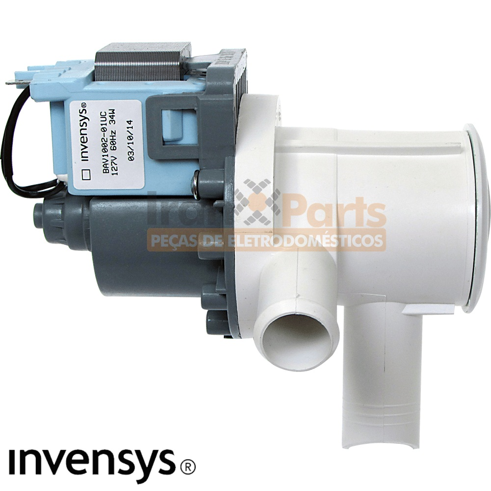 Eletrobomba Lavadora Continental Bosch 127V Invensys 65251765