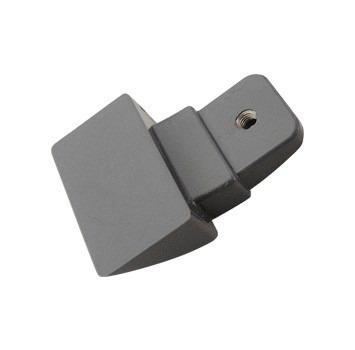 Suporte Inferior Prata Puxador Refrigerador Electrolux Df80X