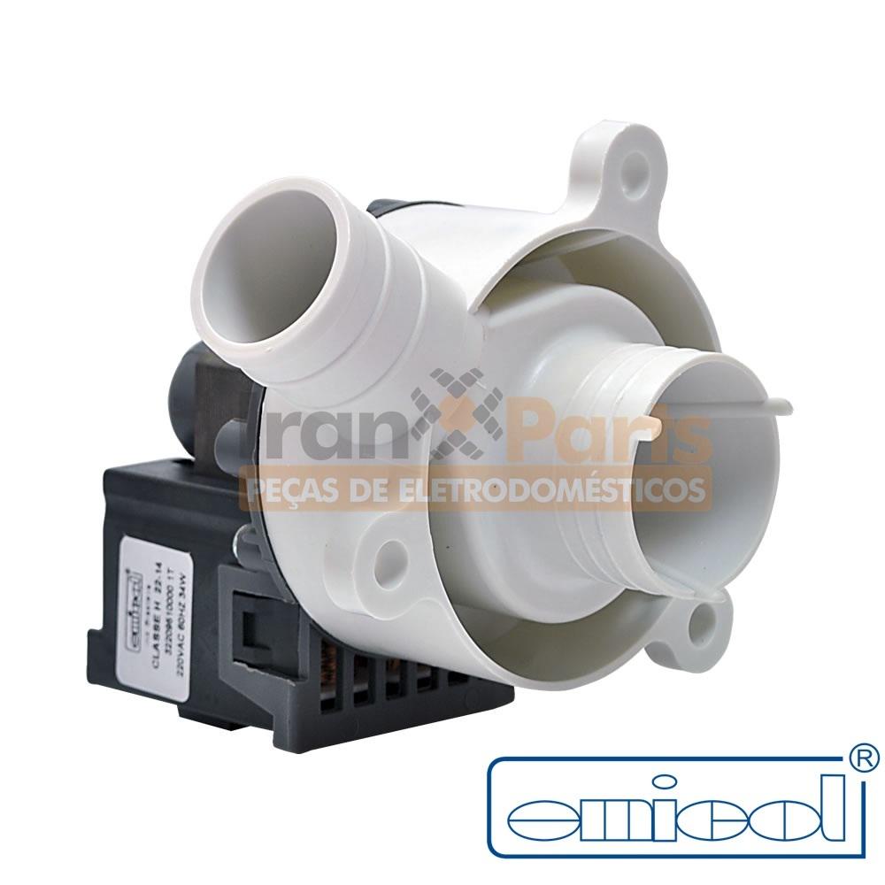 Eletrobomba Lavadora Electrolux 220V Emicol 322095