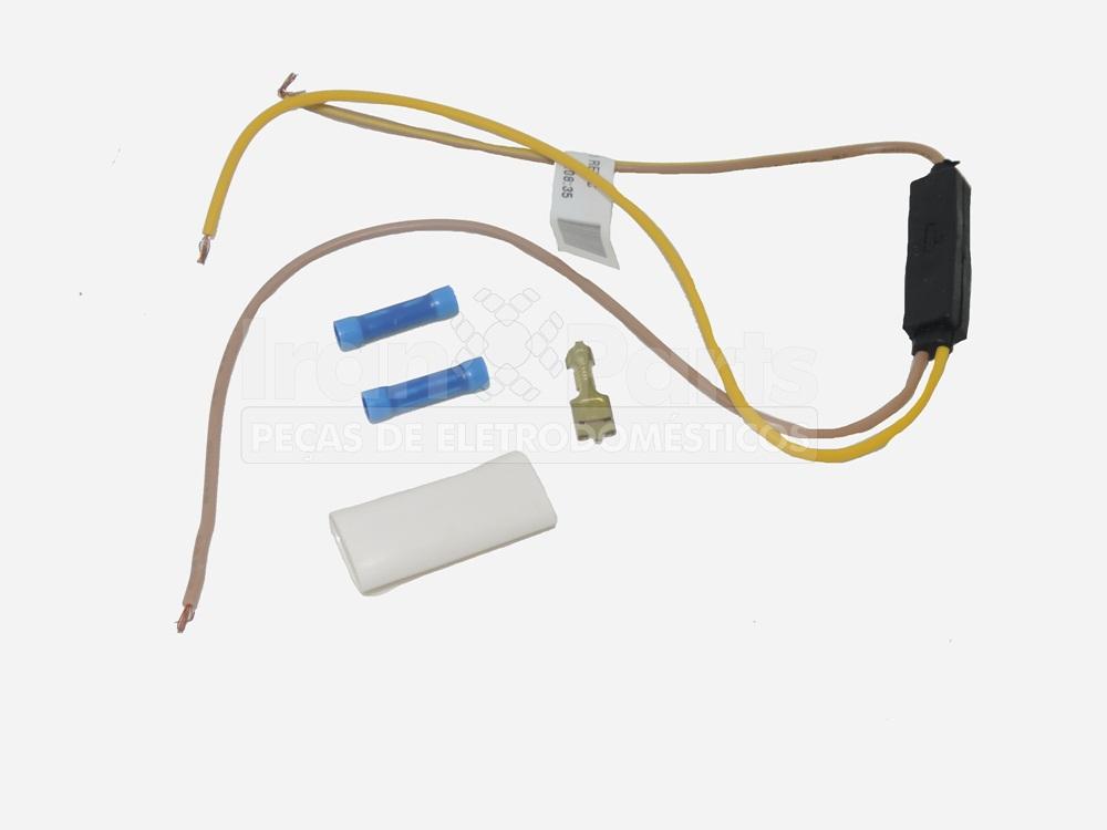Kit Diodo Com Rede Elétrica Refrigerador Side By Side Electrolux