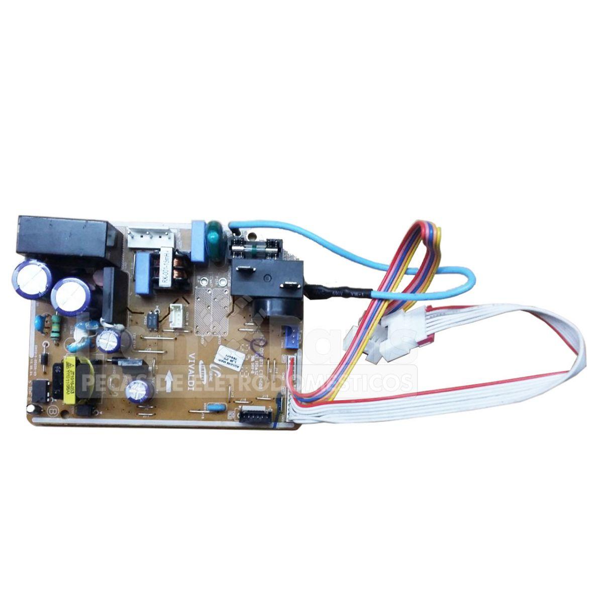 Placa Da Evaporadorora Ar Condicionado Samsung Aq12Ubanxaz