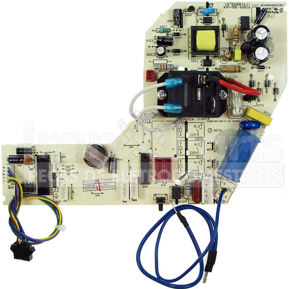 Placa De Controle Ar Condicionado Split Consul W10400403