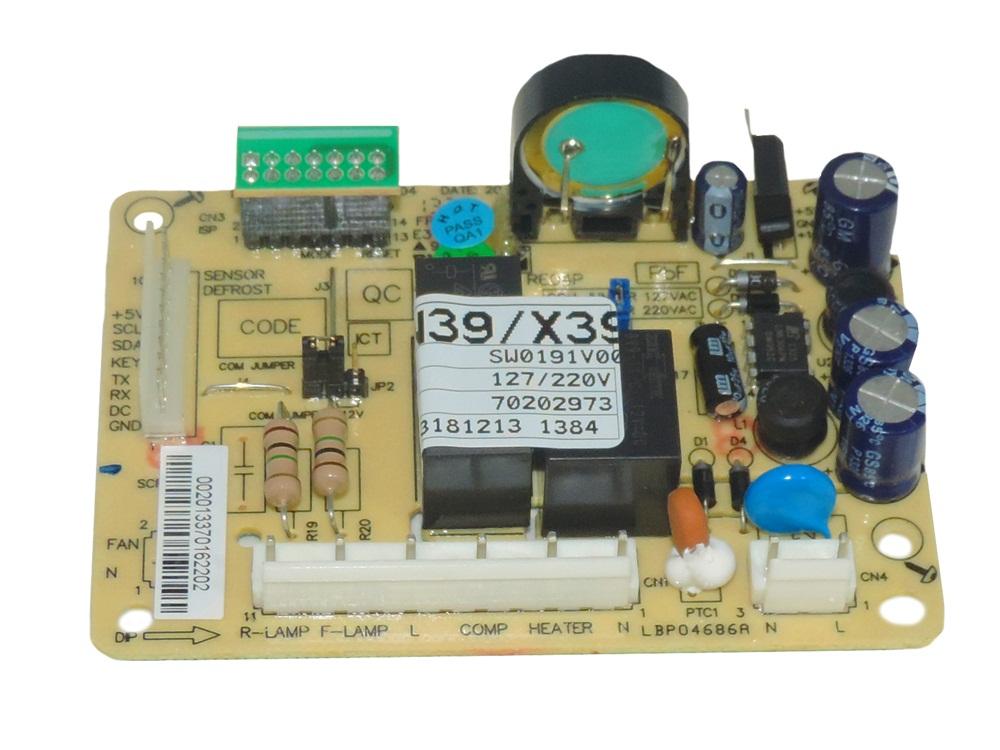 Placa De Potencia Refrigerador Electrolux Dfn39 Dfx39