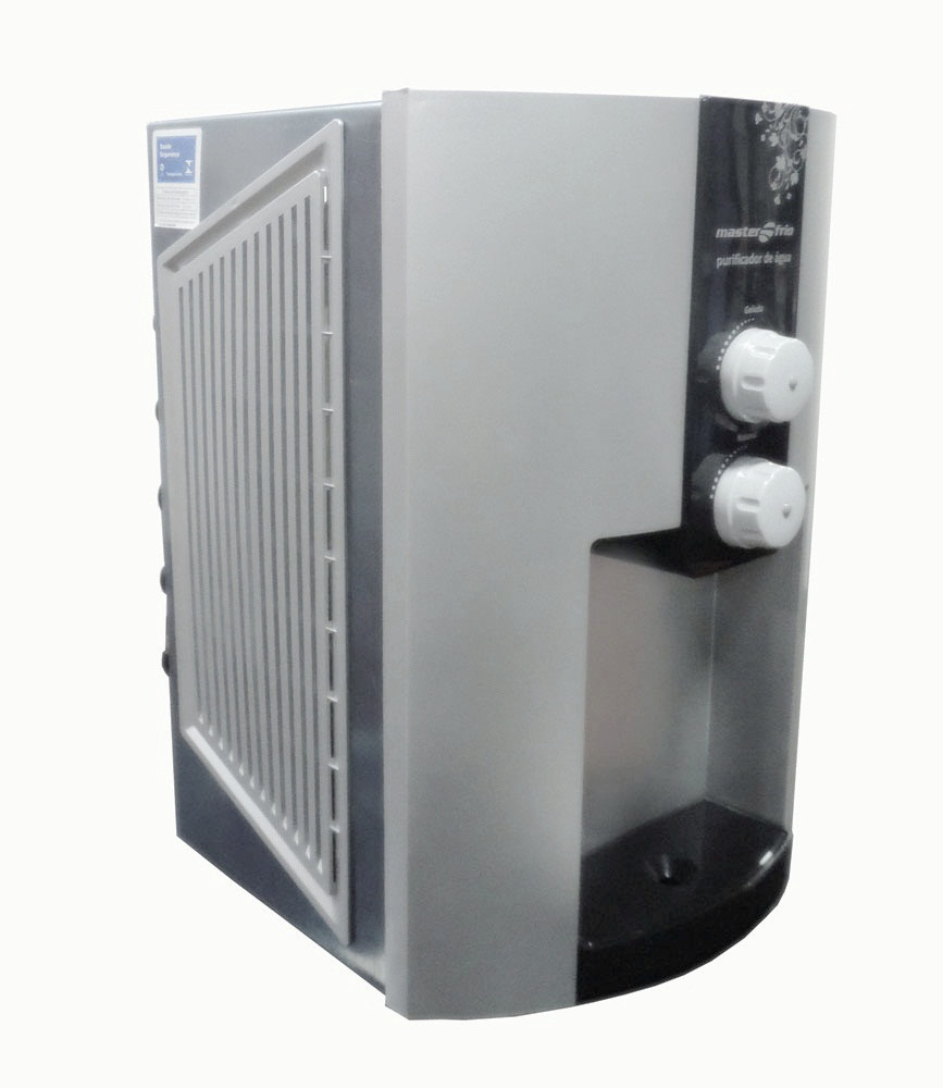 Purificador De Água Master Frio Inox Master Flex Com Compressor