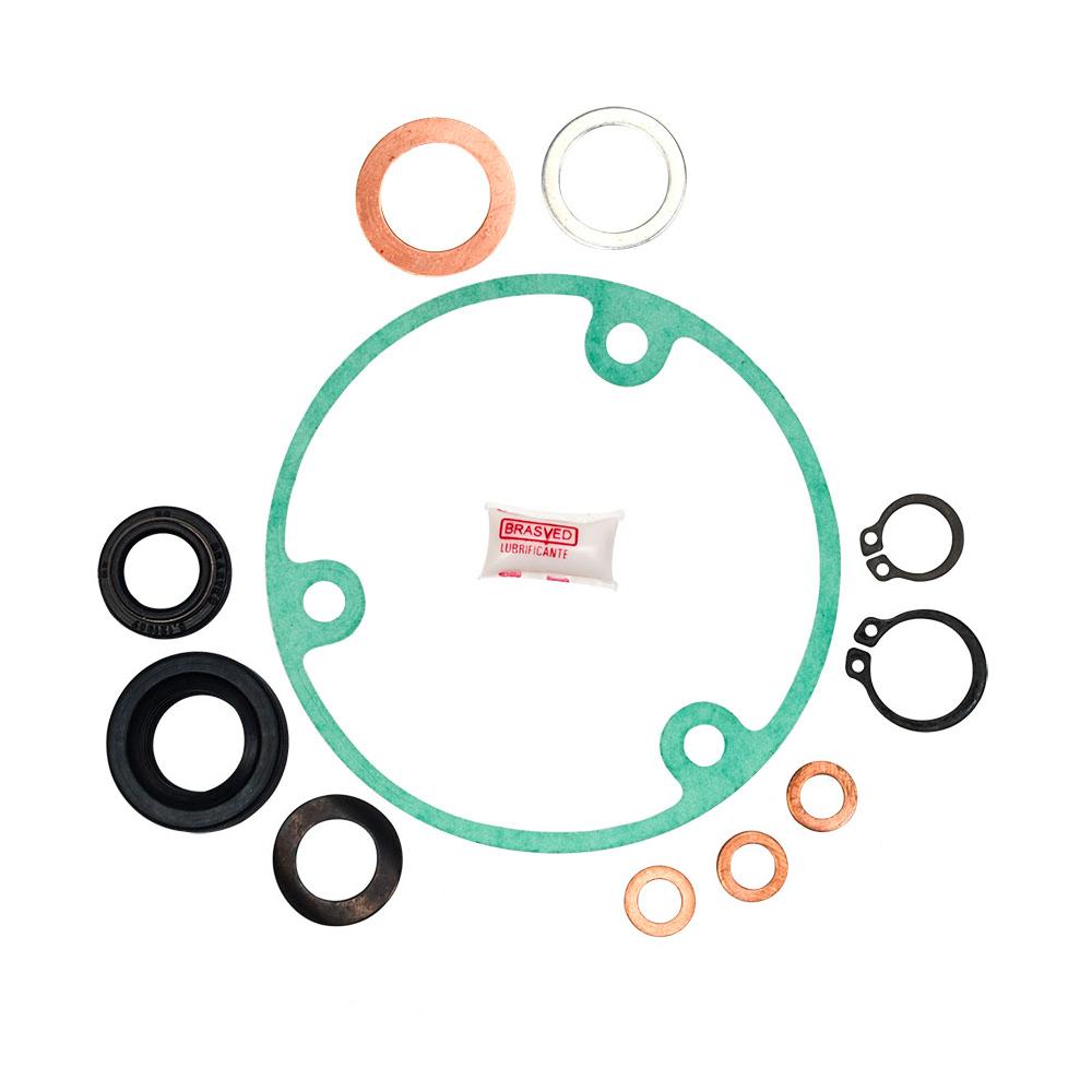 Kit Retentores Caixa De Engrenagem Lavadora Electrolux Lm06