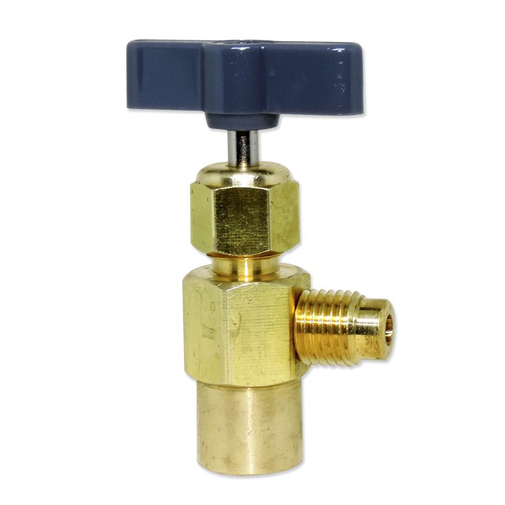 Válvula Perfuradora Para Garrafa De Gás R22 R134 R410 Mp39