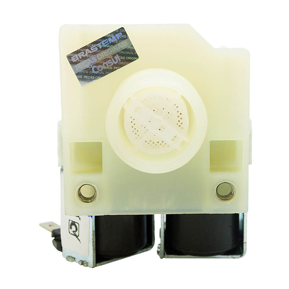 Válvula Dupla 220V Lavadora de Roupas Brastemp & Consul