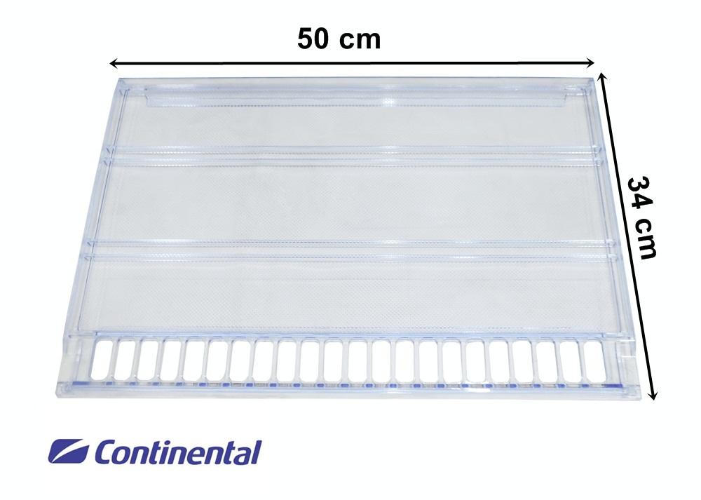 Prateleira Acrílica Refrigerador Continental Bosch 360 370 380L 50x34