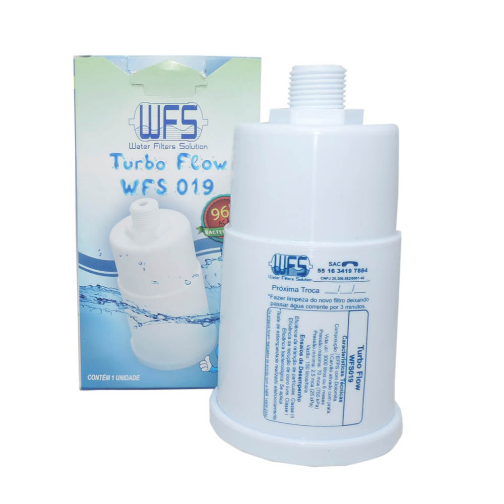 Refil Do Filtro Purificador Aqualar Acquaplus If0019