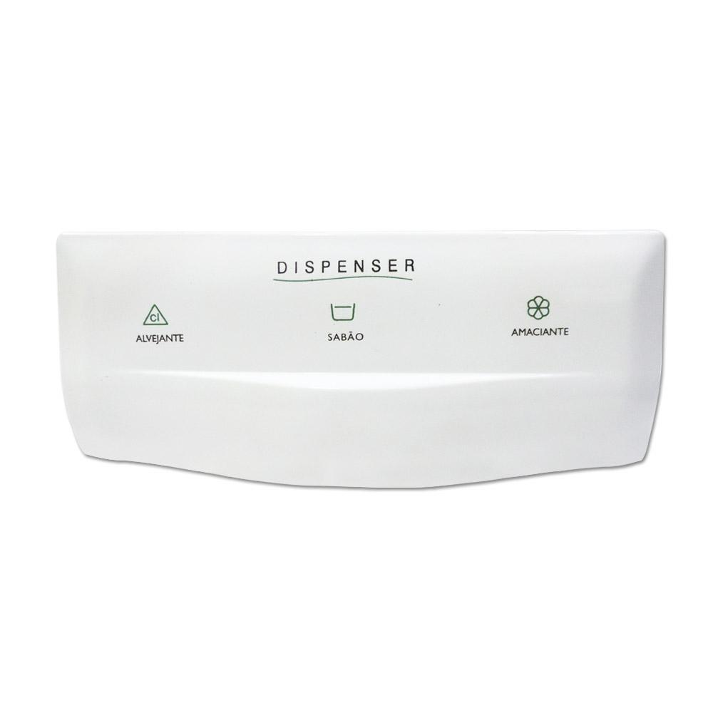 Puxador Dispenser Compatível Lavadora Brastemp Bwl11A Bwm06A