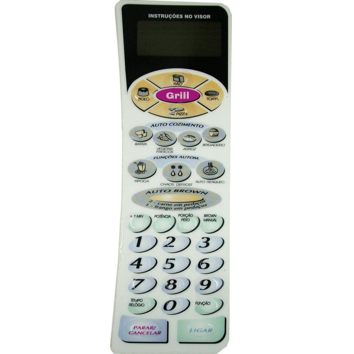 Membrana Forno Microondas Panasonic Nng51Bh