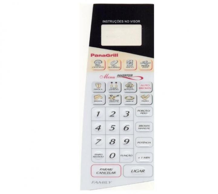 Membrana Forno Microondas Panasonic  Nng62 Bh