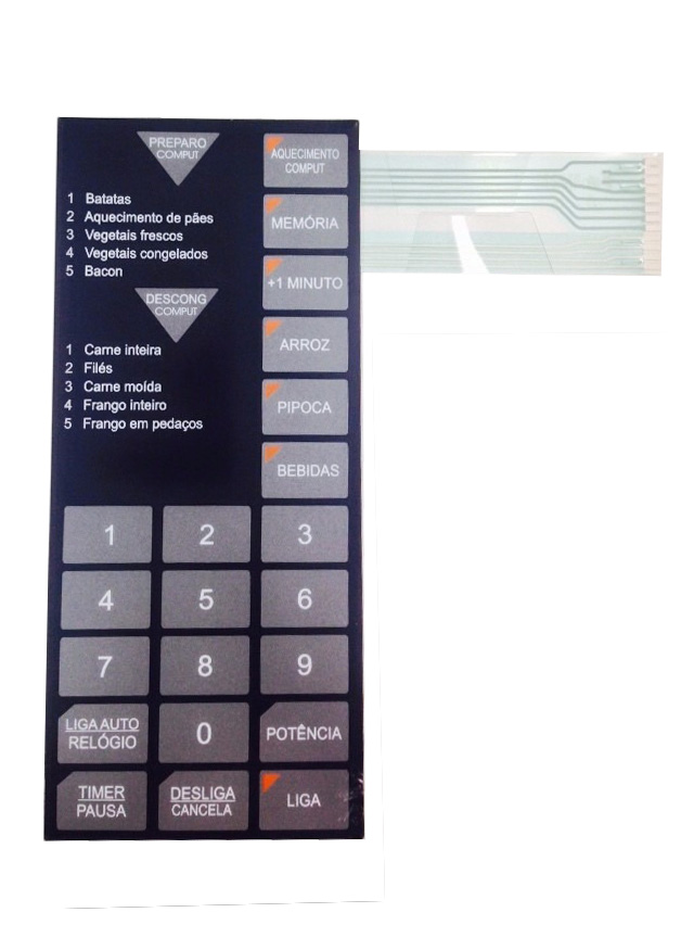 Membrana Forno Microondas Sharp Rb4A33 Rb4A23