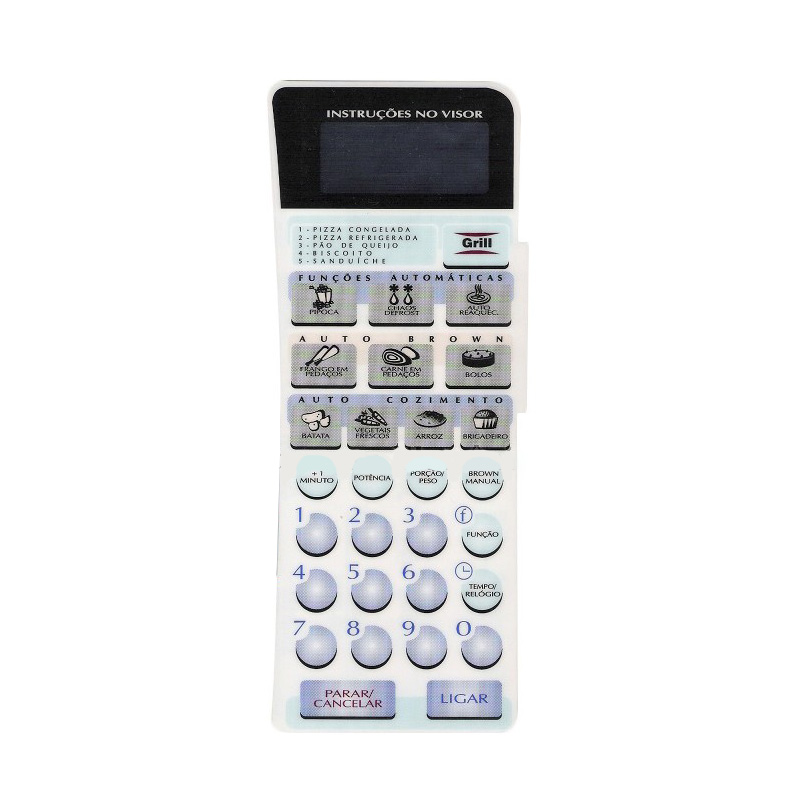 Membrana Forno Microondas Panasonic Nng 60 Bh