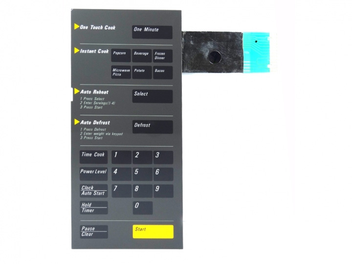 Membrana Forno Microondas Samsung Mw8620