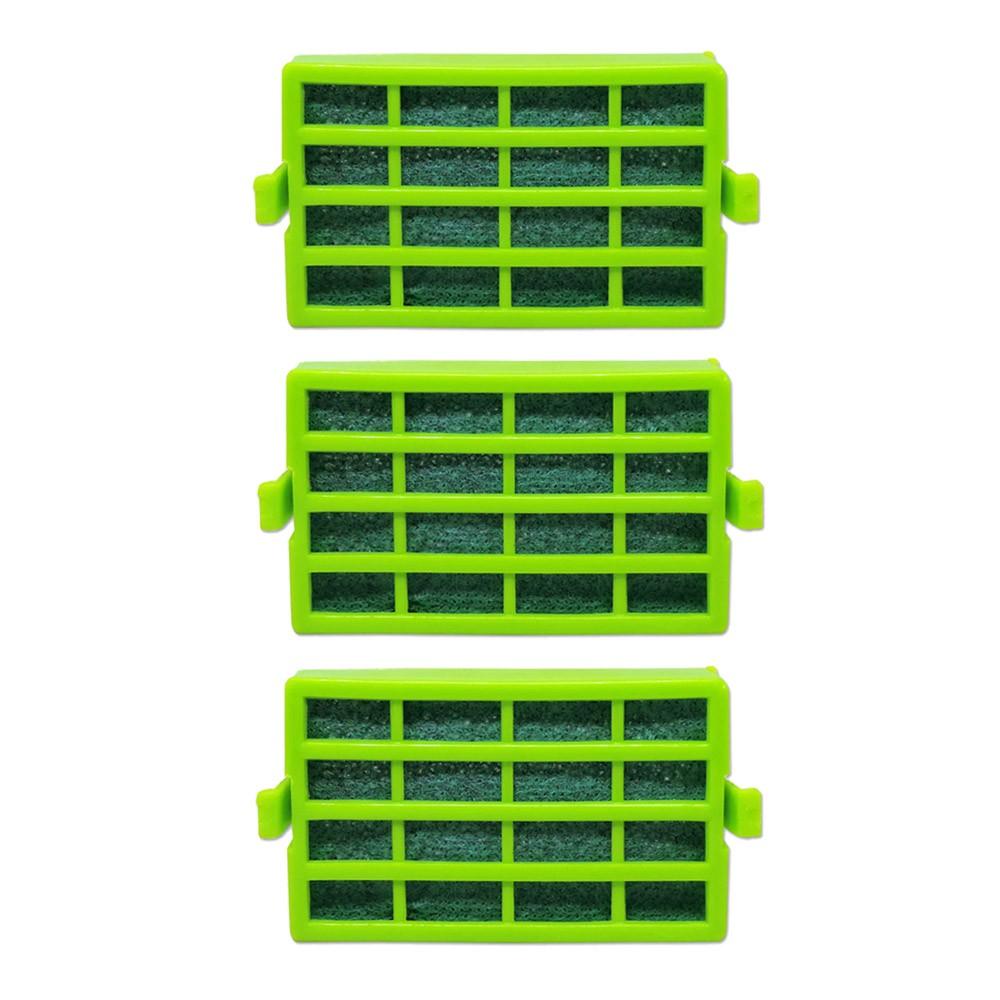 3 Filtros Antibactéria Antiodor Compatível Refrigerador Consul Bem Estar