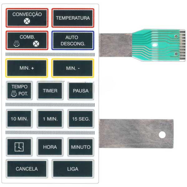 Membrana Compatível Forno Microondas Brastemp Bmp 23