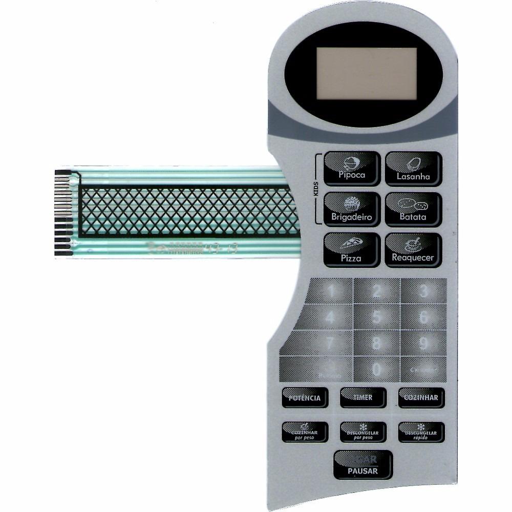 Membrana Teclado Forno Microondas Britania Bm18L 2