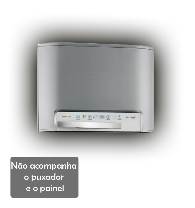 Porta Superior Inox Do Freezer Df48X Dw48X Dw49X 70294342