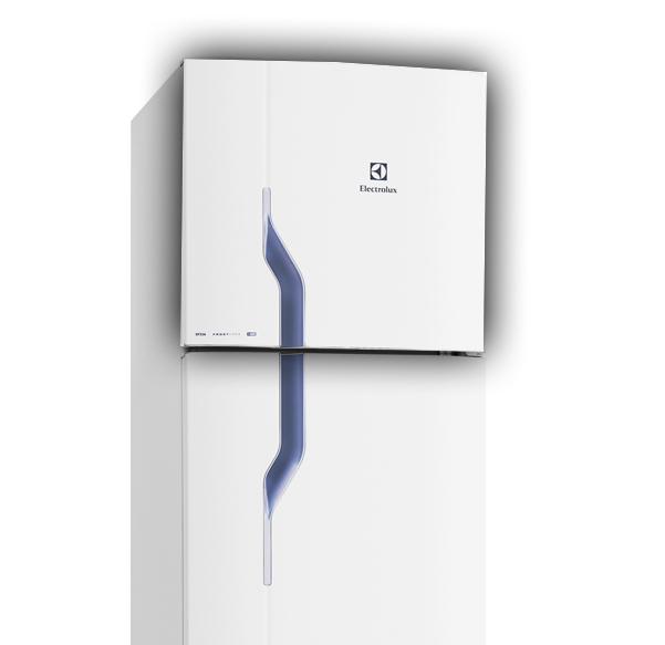 Porta Superior Do Freezer Puxador Cinza Electrolux 70202813