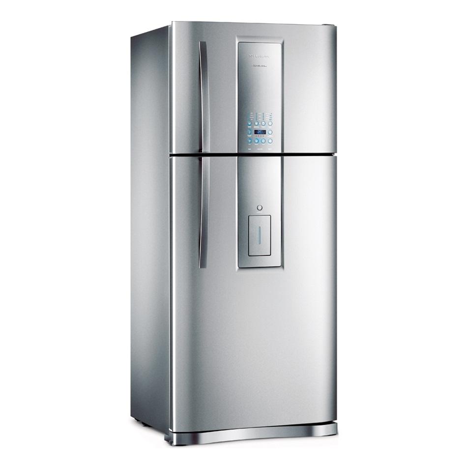Porta Superior Inox Do Freezer  Di80X Dt80X